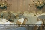 wedding theming events business for sale gold coast